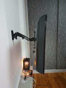 TV mount singapore gas strut